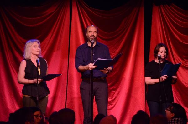 Debbie Harry, Scott Adsit, Rachel Dratch Photo