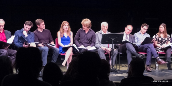 Photo Flash: Wild Root's GLORIA Staged Reading with Dick Latessa, Zach Grenier & Genevieve Angelson
