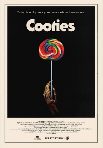 Photo Flash: Poster for COOTIES with Elijah Wood & Rainn Wilson Released