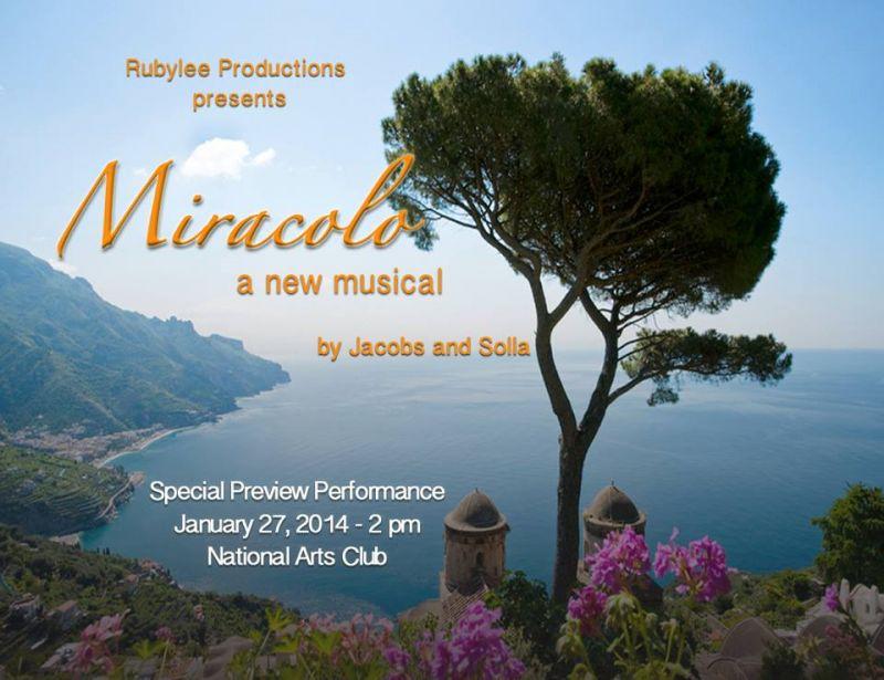 Anita Gillette & More Set For MIRACOLO Presentation 1/27