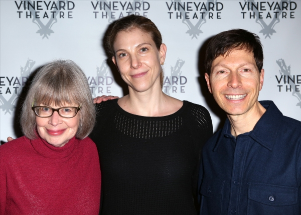 Polly Pen (composer), Carolyn Cantor (director) and Victor Lodato (book writer/lyricist)