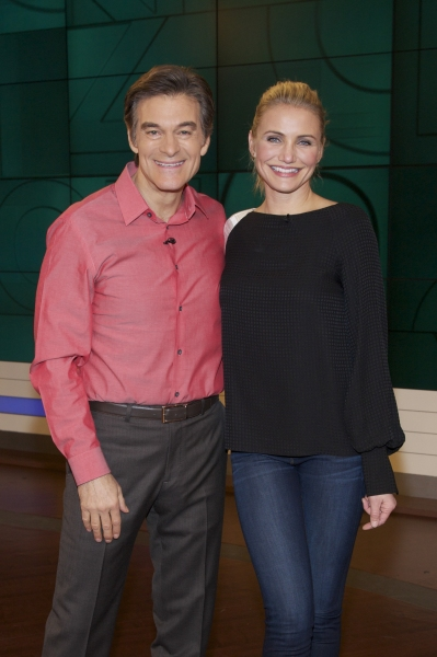 Photo Flash: First Look - Cameron Diaz Visits THE DR. OZ SHOW Tomorrow
