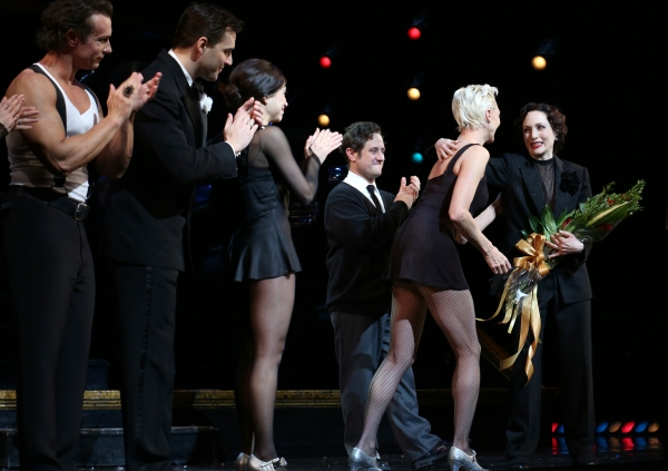 R. Lowe, Ryan Silverman, Bianca Marroquin, Christopher Fitzgerald, Amra-Faye Wright and Bebe Neuwirth