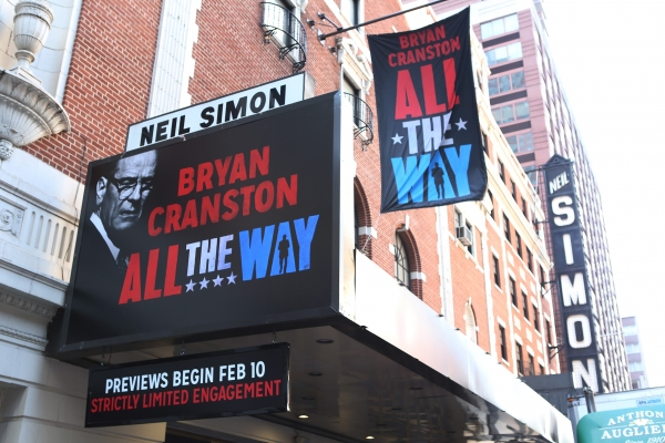 Up on the Marquee: ALL THE WAY