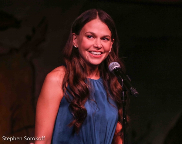 Photo Coverage: Broadway-Bound Sutton Foster Returns to the Cafe Carlyle!