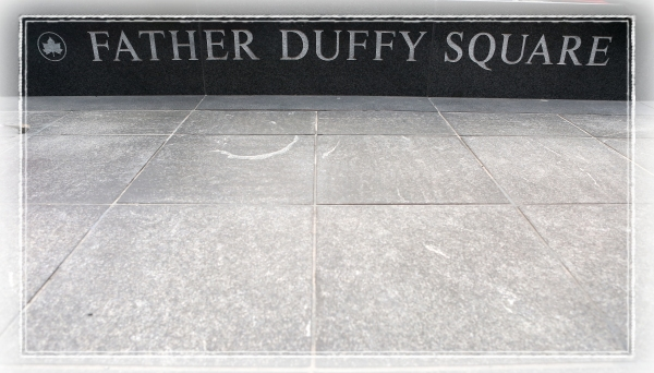 Photo Coverage: Sneak Peak of Duffy Square's Broadway Theatre Sidewalk Map!