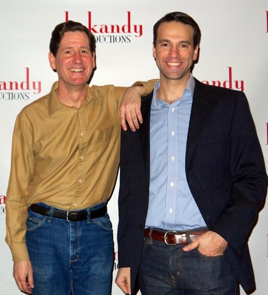 Brian Rooney (J.J. Hunsecker) with  David Schlumpf (Sidney Falco)