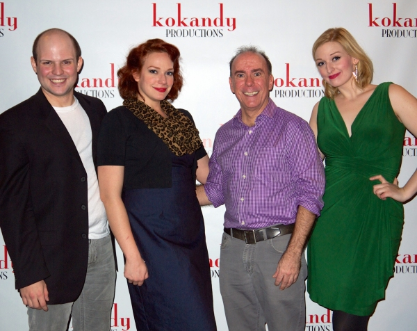 Brennan Roach (Kello), Christina Hall (Rita), Rus Rainear (Otis Elwell), and Stephanie Souza (Madge)