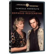 ORPHEUS DESCENDING Starring Vanessa Redgrave Now Available On DVD