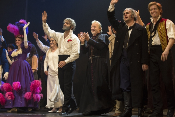 Photos and Video: LES MIS Stars Unite! Original Valjean Colm Wilkinson Duets with Broadway-Bound Ramin Karimloo!