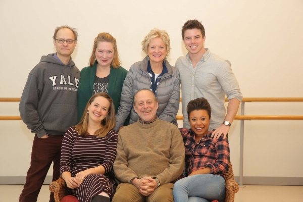 Photo Flash: In Rehearsal with David Hyde Pierce, Christine Ebersole, Kristine Nielsen & More for CTG's 'VANYA AND SONIA'