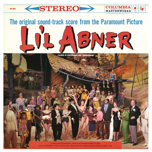 BWW CD Reviews: Masterwork Broadway's LI'L ABNER (Original Motion Picture Soundtrack) is Exuberantly Fun
