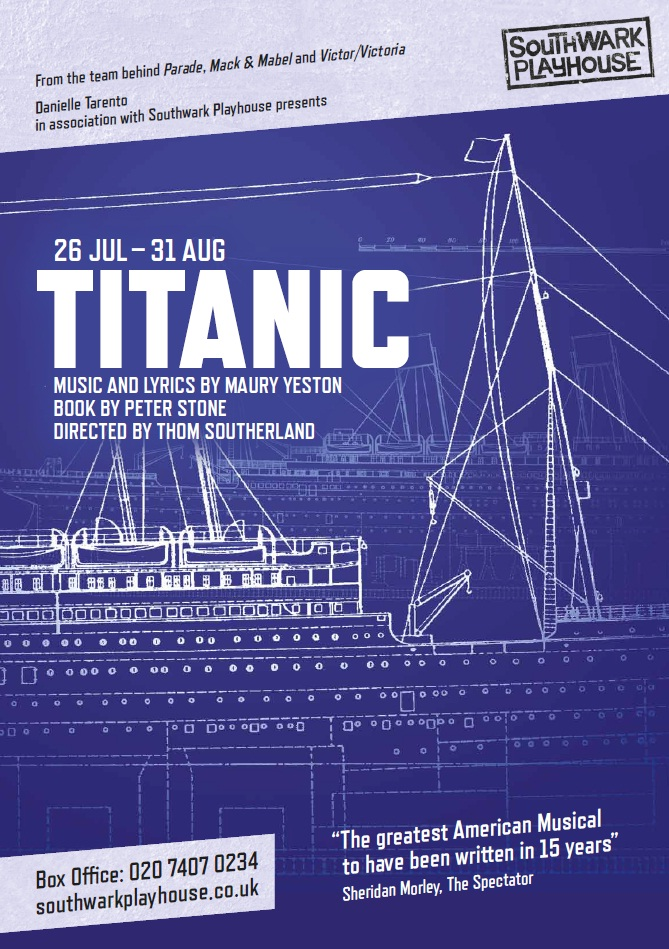 FLASH FRIDAY: Ship Of Dreams! TITANIC Is Set To Sail Back To Broadway This Fall