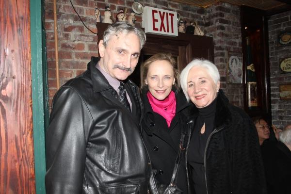 Rocco Sisto, Laila Robins and Olympia Dukakis