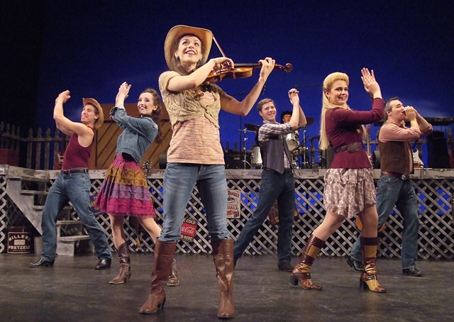BWW Reviews: Laguna Playhouse's RING OF FIRE Needs More Heat