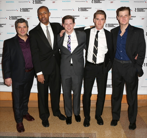 Morgan Spector, Damian Baldet, Dion Graham, Ryan Dinning, Scott Drummond and Jason Loughlin