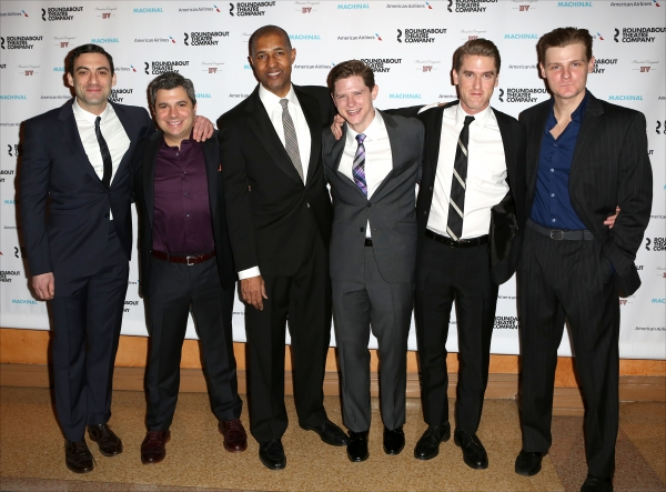 Morgan Spector, Damian Baldet, Dion Graham, Ryan Dinning, Scott Drummond and Jason Lo Photo
