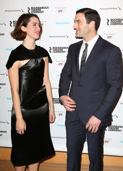 Rebecca Hall and Morgan Spector
