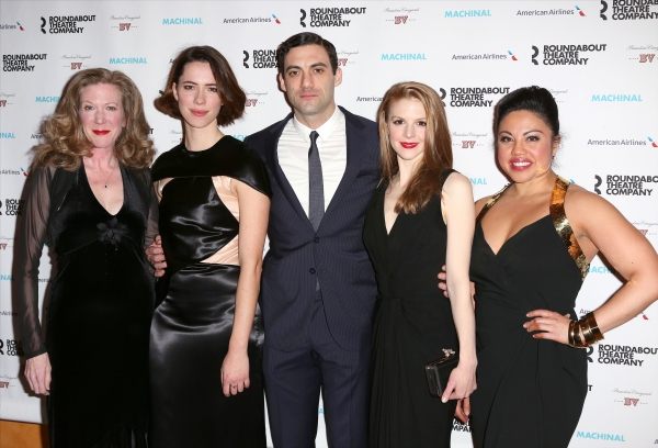 Henny Russell, Rebecca Hall, Morgan Spector, Ashley Bell and Maria-Christina Oliveras