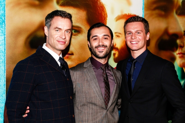 Photo Flash: Jonathan Groff, Andrew Rannells, Cheyenne Jackson & More Attend LOOKING Premiere