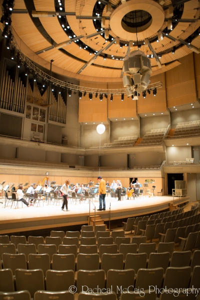 The Toronto Symphony Orchestra and the PickeShoes Dance Company in Rehearsals