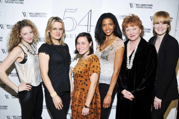 Lauren Molina, Amy Spanger, Emma Galvin, Renee Elise Goldsberry, Becky Ann Baker, Kate Baldwin