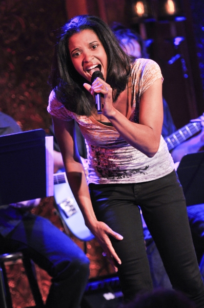 Photo Flash: Inside WTF Cabaret Series at 54 Below with Lauren Molina, Renee Elise Goldsberry, Joe Iconis & More