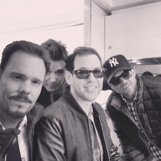 Photo Flash: Adrian Grenier & More Share First Look from Set of ENTOURAGE Film