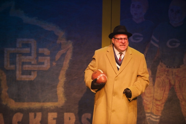 Photos: First Look at the Aurora Theatre's LOMBARDI with Bart Hansard, Carolyn Cook and More