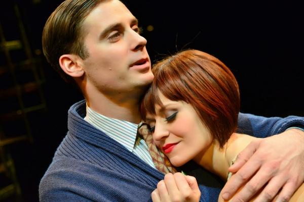 Patrick Sarb as Clifford Bradshaw and Megan Sikora as Sally Bowles Photo