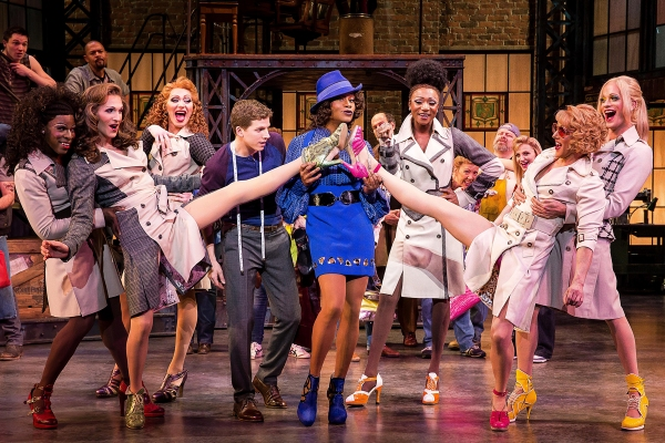 The original Broadway cast of KINKY BOOTS. Photo by Matthew Murphy.