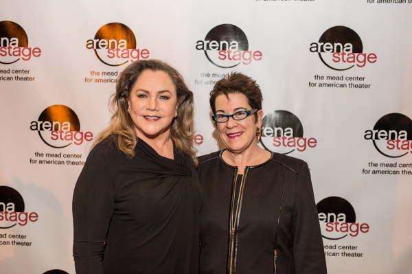 Kathleen Turner and Arena Stage Artistic Director Molly Smith