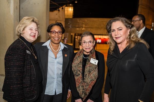 Arena Stage Board Chair Beth Newburger Schwartz, Congresswoman Marcia L. Fudge, Justi Photo