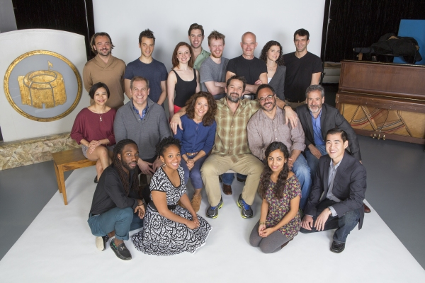 The cast of The Winter''s Tale: (back row, from left) Kushtrim Hoxha, A.Z. Kelsey, Lindsay Brill, Robbie Simpson, Brendan Spieth, Paul Kandel, Meaghan Boeing, and Patrick Zeller; (middle row) Angel Desai, Paul Michael Valley, Natacha Roi, Billy Campbell,
