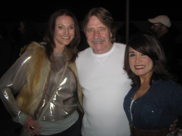 Rebecca Lines (actress), Steve Pope (Silvercreek Records), Paula Smith (agent) Photo