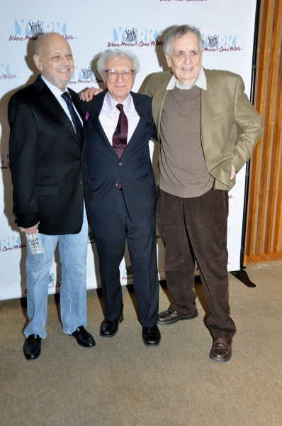 Charles Strouse, Sheldon Harnick and Sherman Yellen