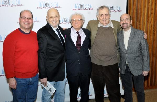Stephen Cole, Charles Strouse, Sheldon Harnick, Sherman Yellen and David Krane