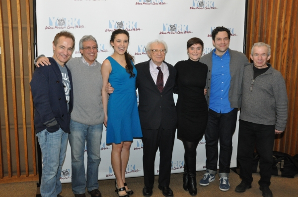 Jason Graae, Jeffrey Saver (Musical Director), Kerry Conte, Sheldon Harnick, Rhyn McL Photo