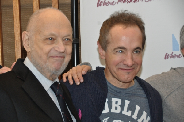 Charles Strouse and Jason Graae