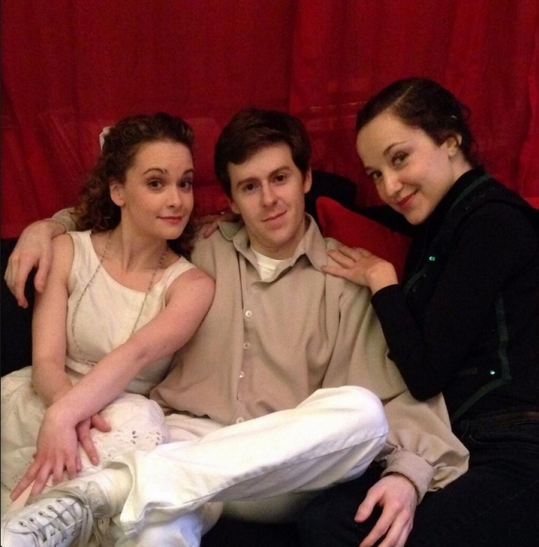 Photo Flash: Saturday Intermission Pics, Jan 18 - ADDAMS FAMILY Channels TITANIC, BEAUTIFUL Celebrates a Birthday & More!