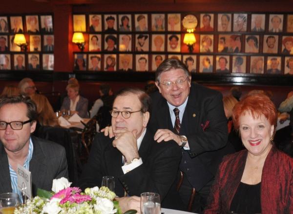 Michael Riedel, Lee Roy Reams, Bob Lydiard, Jeanne Lehman Photo
