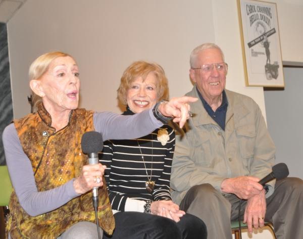 Sondra Lee, Nicole Barth, David Hartman