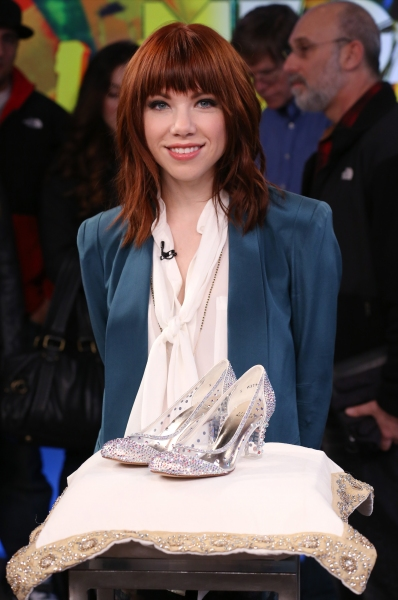 Photo Coverage: Carly Rae Jepsen Greets CINDERELLA Fans at GMA!