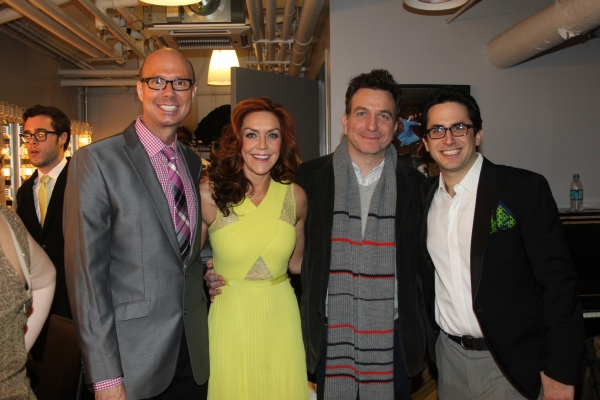 Richie Ridge, Andrea McArdle, Eddie Varley and Rob Diamond