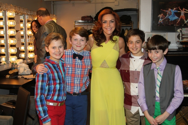 Luke Mannikus, Mitchell Sink, Andrea McArdle, Jimmy Coogan and Nicky Torchia