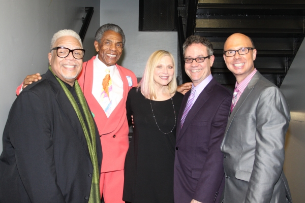 Ken Page, Andre De Shields, Roslyn Kind, Mark Sendroff and Richie Ridge