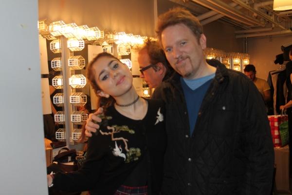 Samia and Dan Finnerty