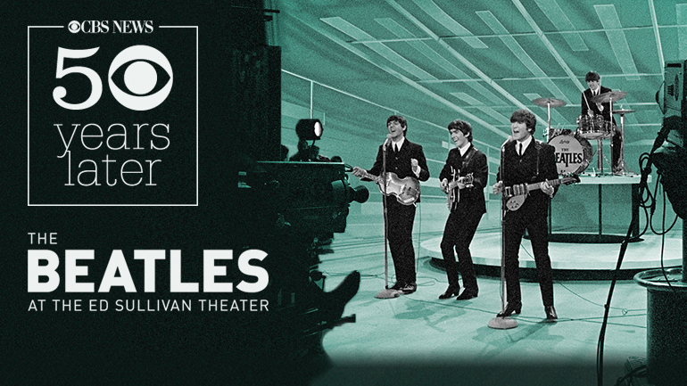 CBS News to Present 50 YEARS: THE BEATLES Interactive Multimedia Event, 2/9