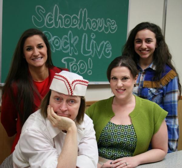 Kelsey Stephens and Jenna Makkawy- bottom row Marian Kaderbak and Collleen Schwartz Photo
