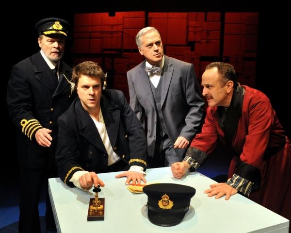 William Parry, Jeremy Ellison Gladstone, Tom Hewitt and Adam Heller